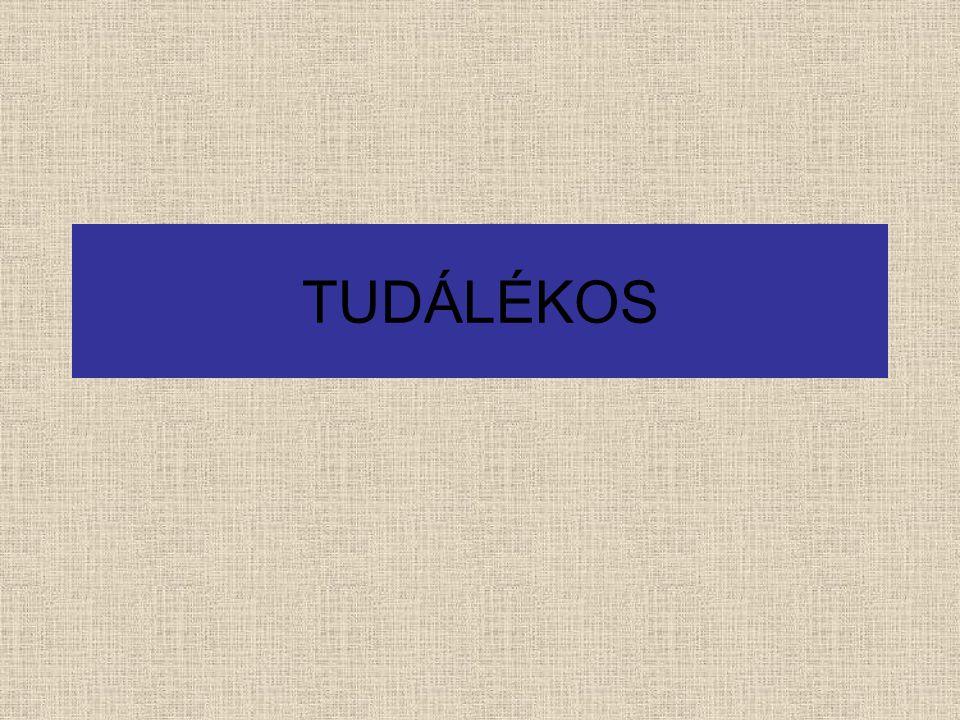 TUDÁLÉKOS