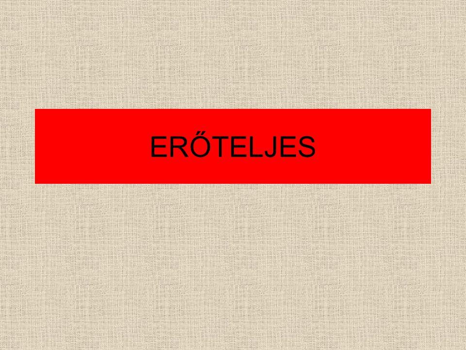 ERŐTELJES