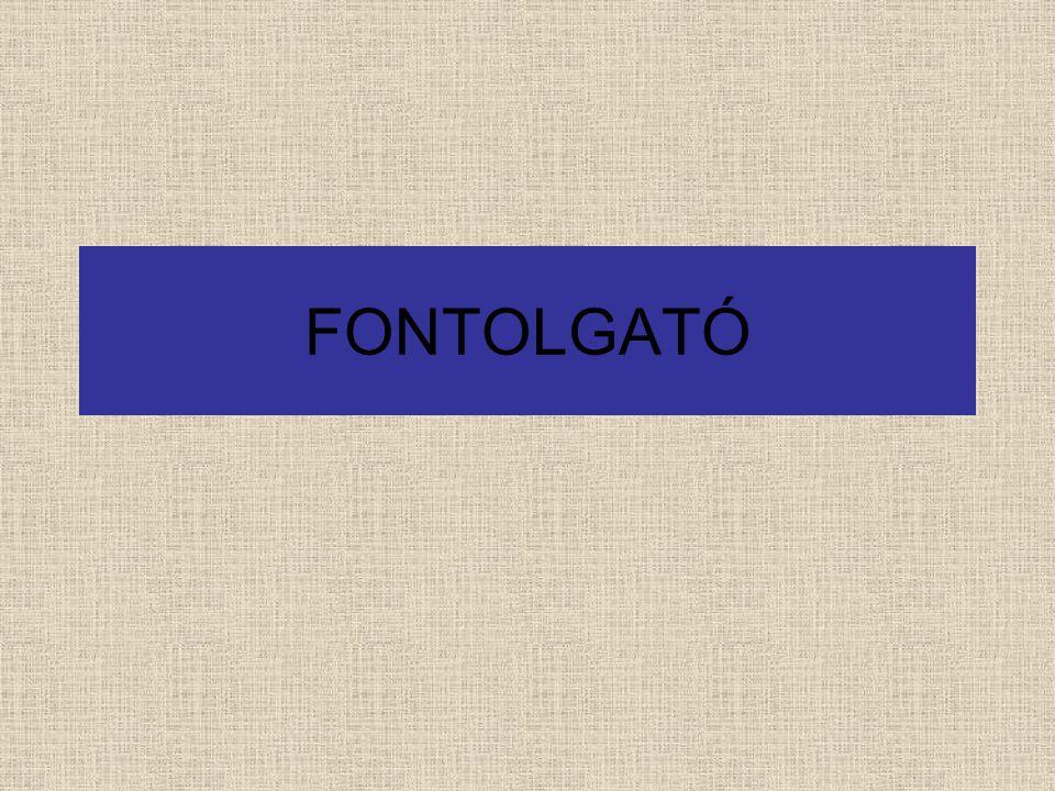 FONTOLGATÓ