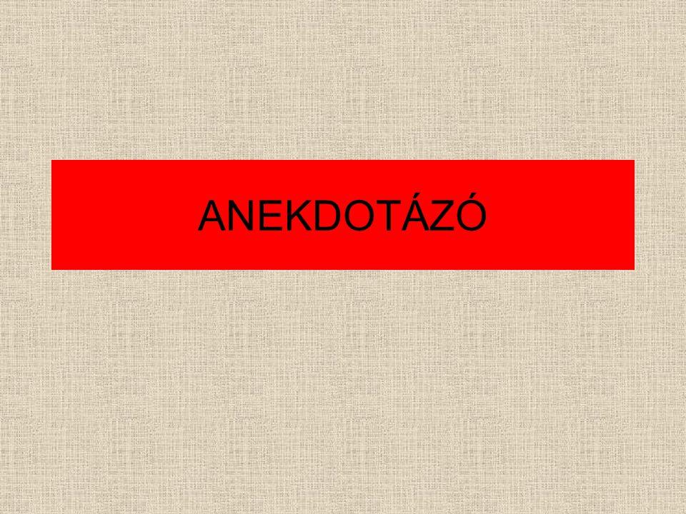 ANEKDOTÁZÓ
