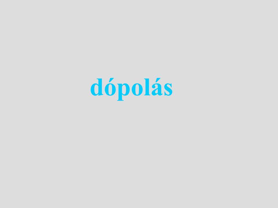dópolás