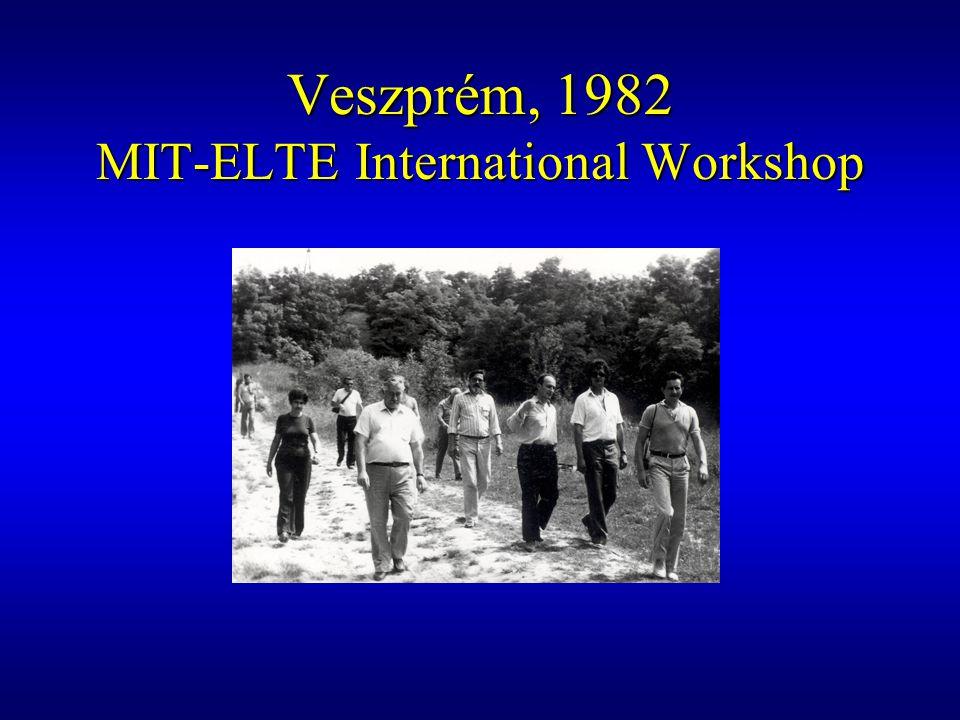 Balatonszabadi, 1990 International Symposium