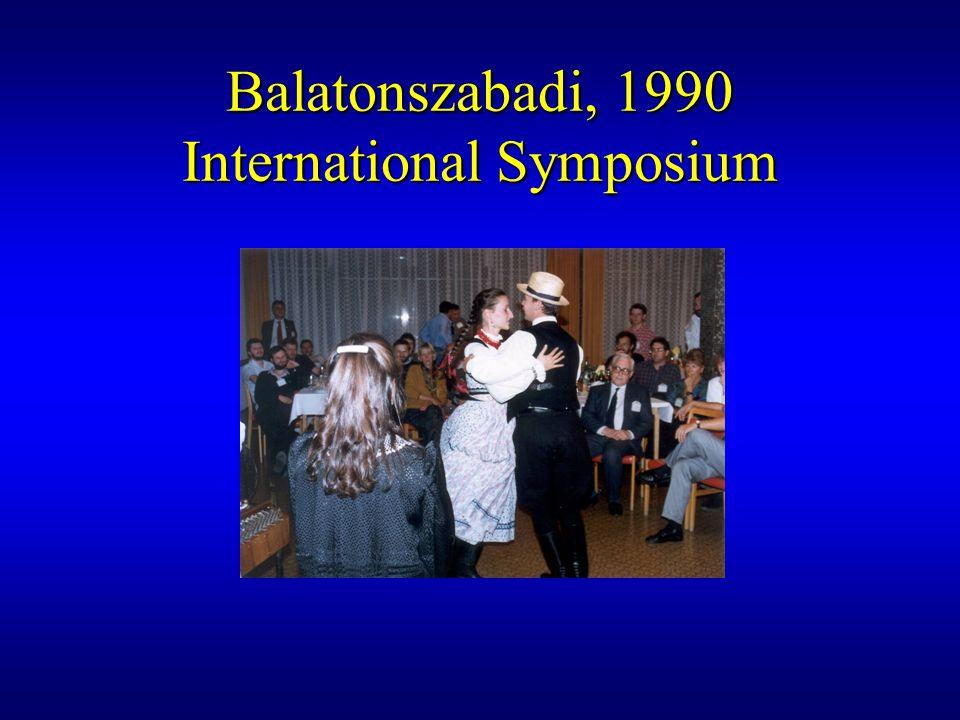 Balaton, TEMPUS-projekt 1993 június 15-22 ELTE Geofizikai Tanszék Geomare Sud, Napoli Istituto Universitario Navale, Napoli Universitat Fridericiana, Karlsruhe Utrecht Universiteit
