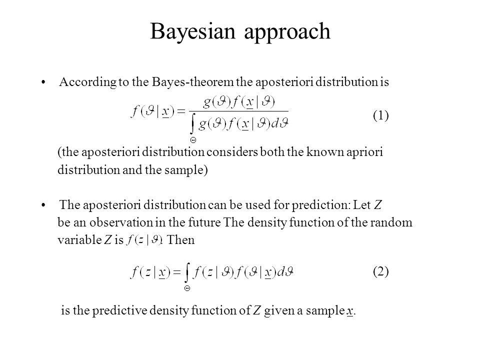 Empirical density functions