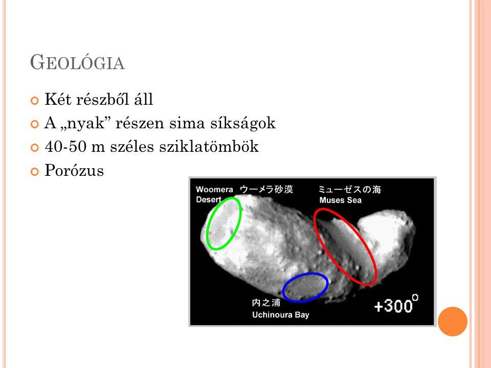 """G EOLÓGIA Két részből áll A """"nyak részen sima síkságok 40-50 m széles sziklatömbök Porózus"""
