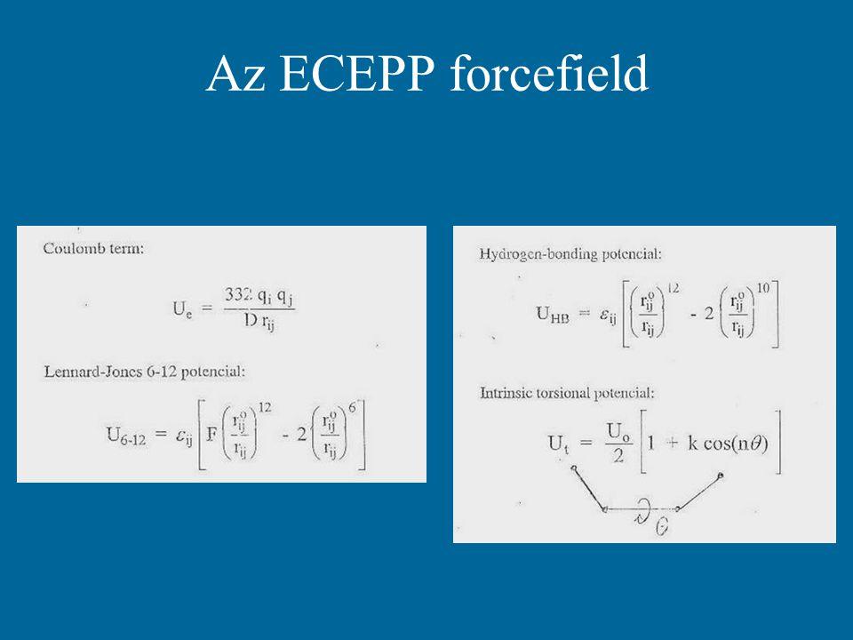 Az ECEPP forcefield