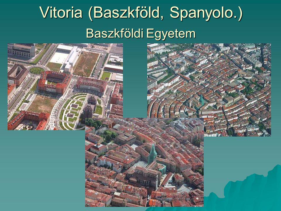 Vitoria (Baszkföld, Spanyolo.) Baszkföldi Egyetem