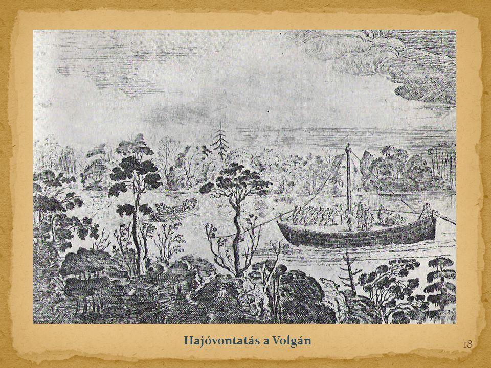Hajóvontatás a Volgán 18
