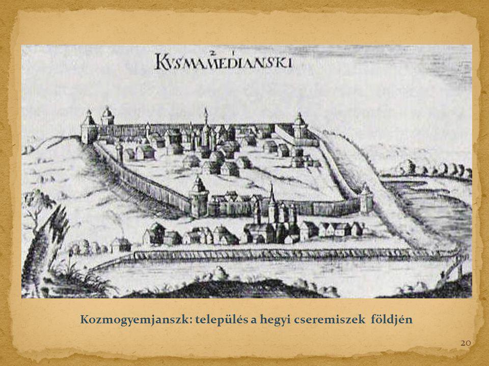 Kozmogyemjanszk: település a hegyi cseremiszek földjén 20