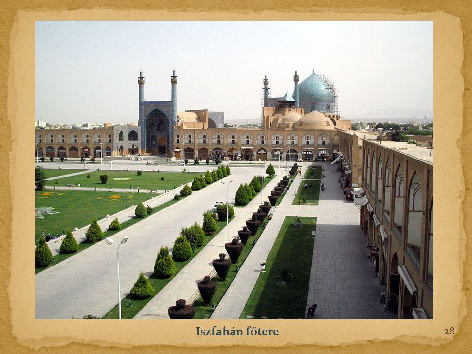 28 Iszfahán főtere