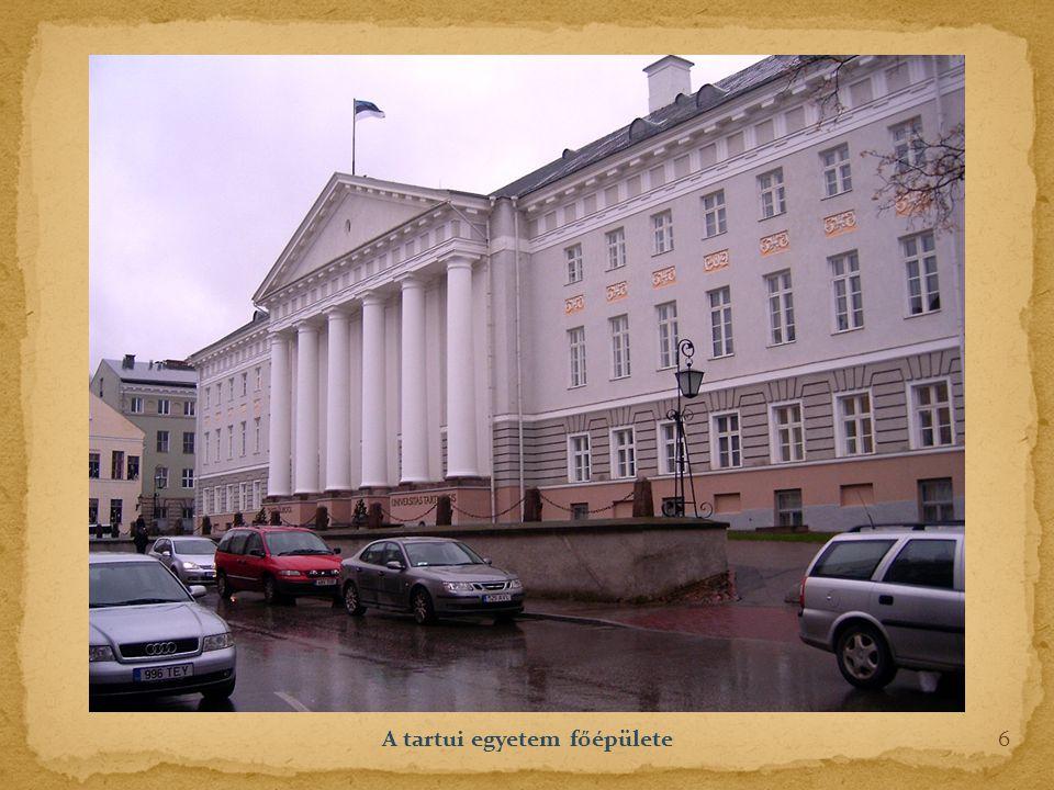 A tartui egyetem főépülete 6