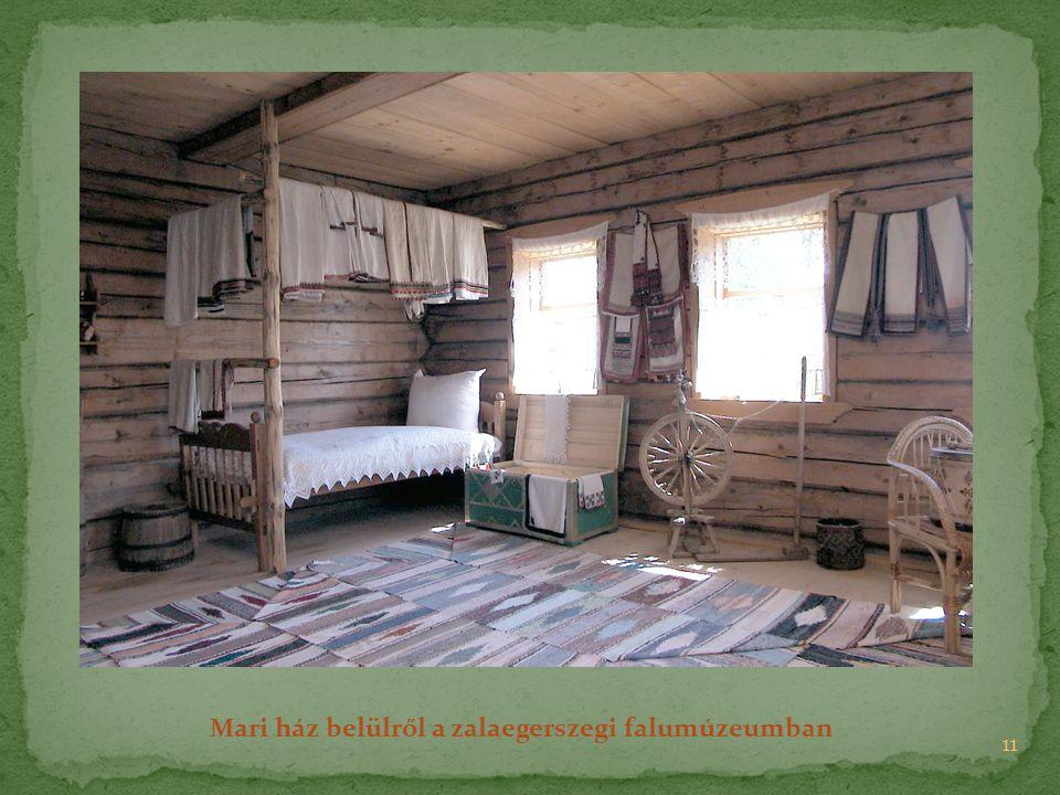 11 Mari ház belülről a zalaegerszegi falumúzeumban