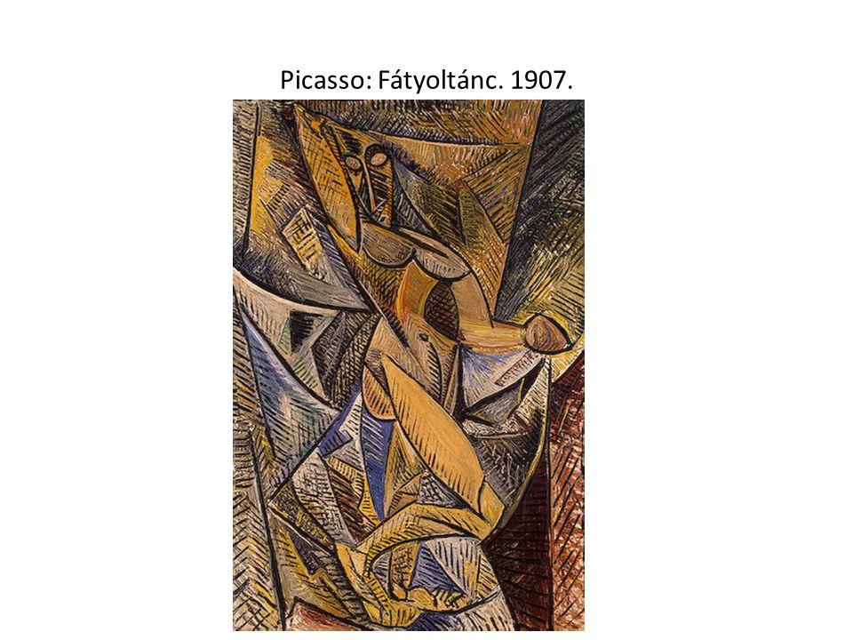 Picasso: Fátyoltánc. 1907.