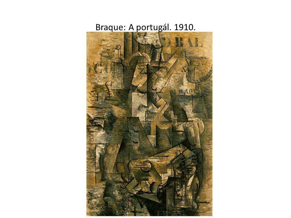 Braque: A portugál. 1910.