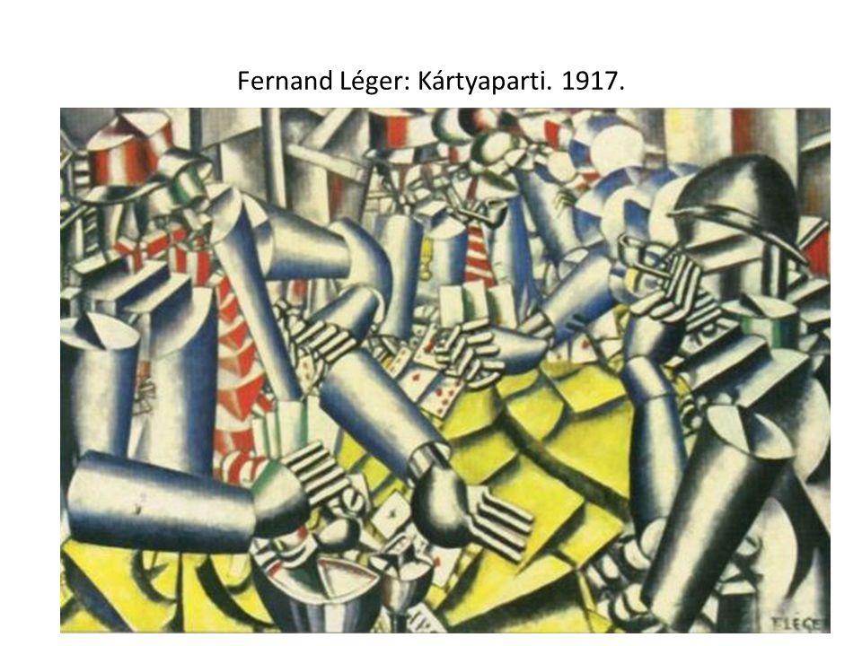 Fernand Léger: Kártyaparti. 1917.