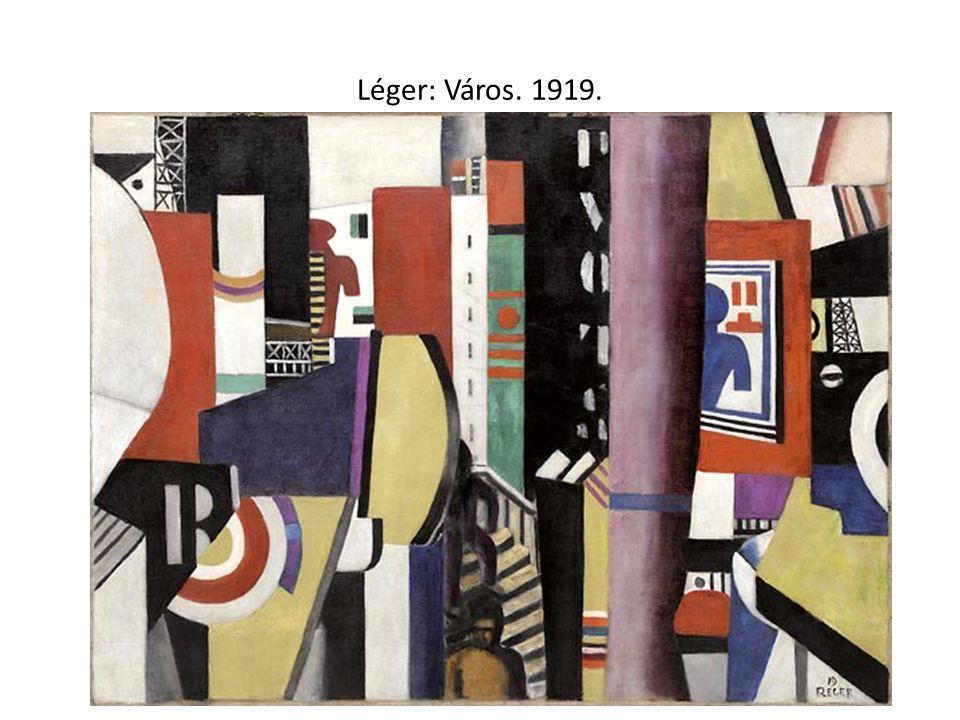 Léger: Város. 1919.