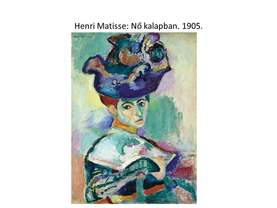 Matisse: Életöröm. 1905-06.