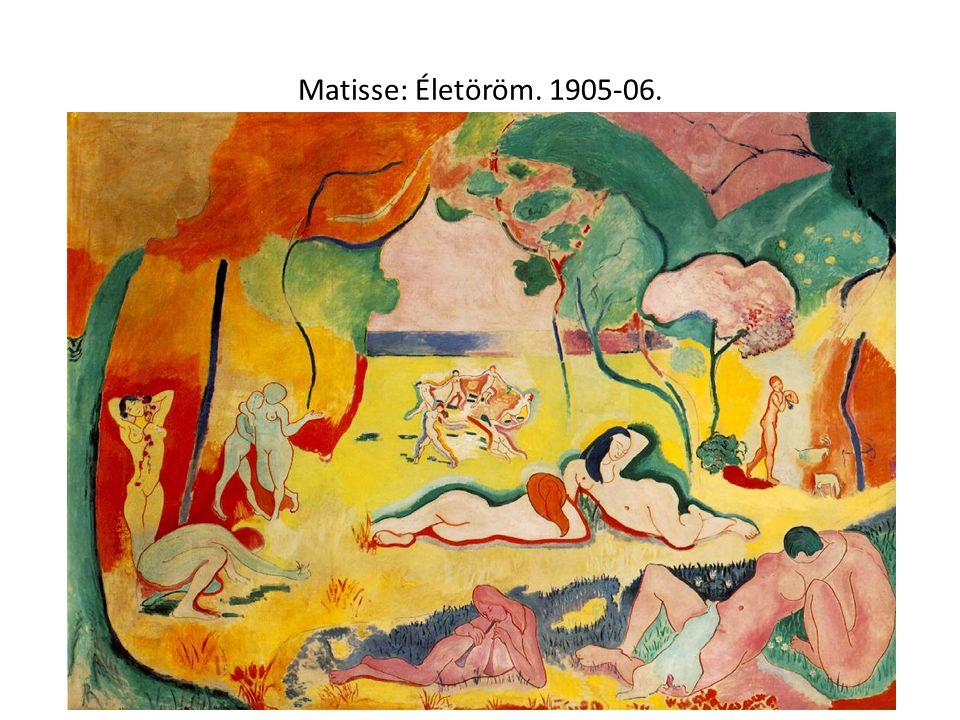 Picasso: Álló nőalak jobbra fordulva. 1908.