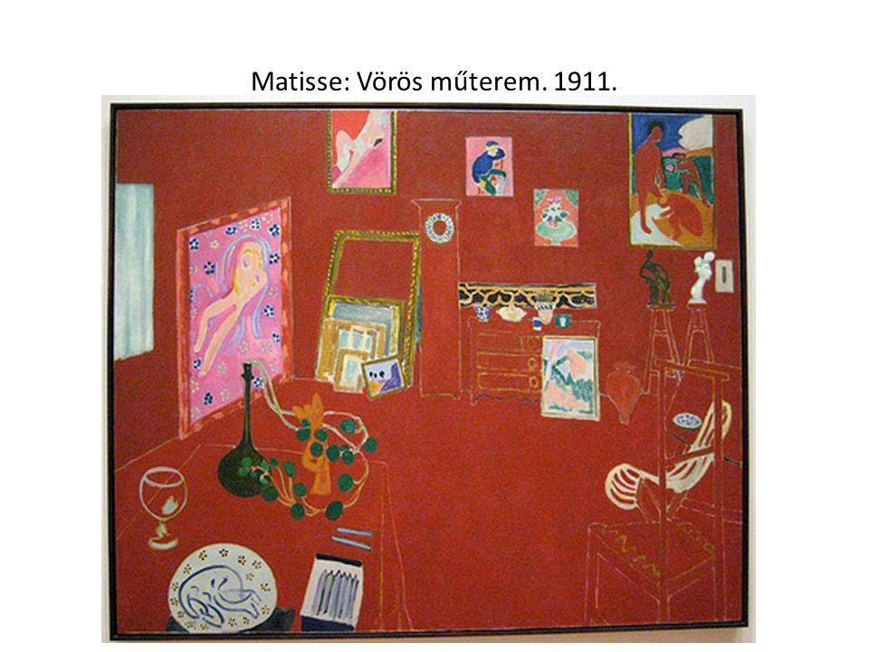 Matisse: Zene. 1910.