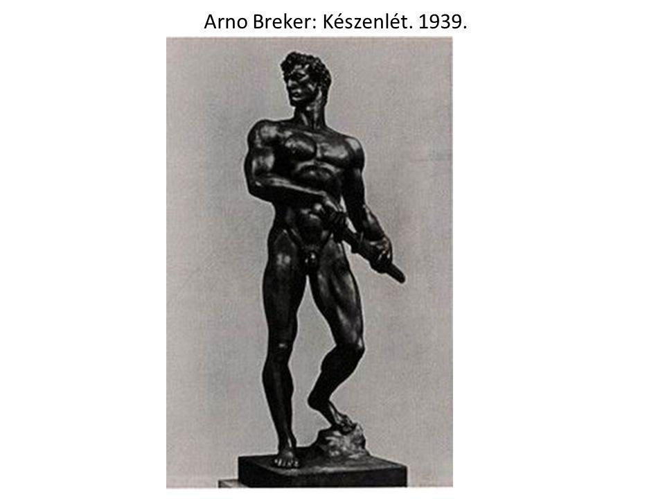 Joseph Thorak: Bajtársiasság. 1939.