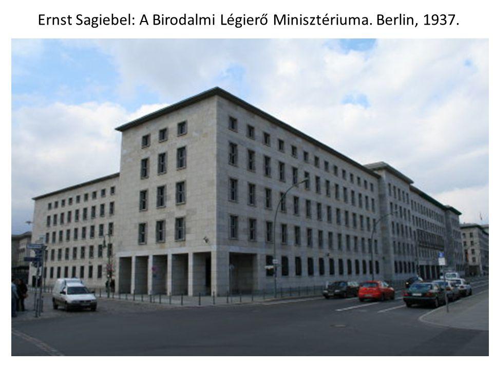 Ernst Sagiebel: A Birodalmi Légierő Minisztériuma. Berlin, 1937.