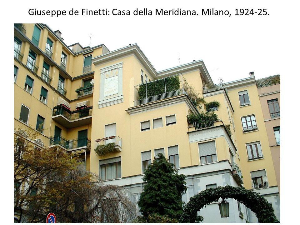 Piero Portaluppi: Corso Venezia. Milano, 1927.