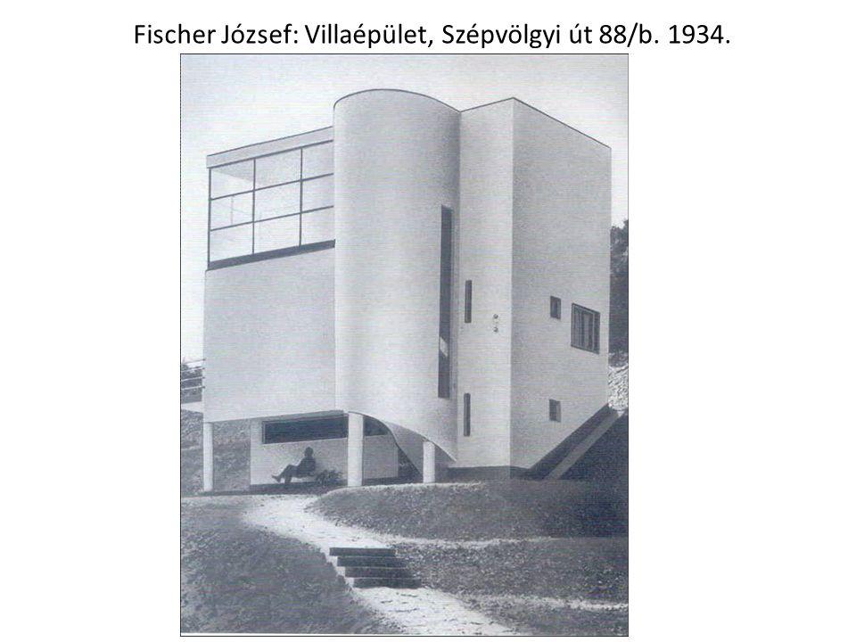 Fischer József: Villaépület, Szépvölgyi út 88/b. 1934.