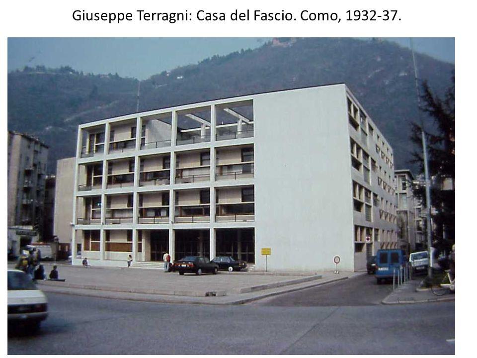Giuseppe Terragni: Casa del Fascio. Como, 1932-37.