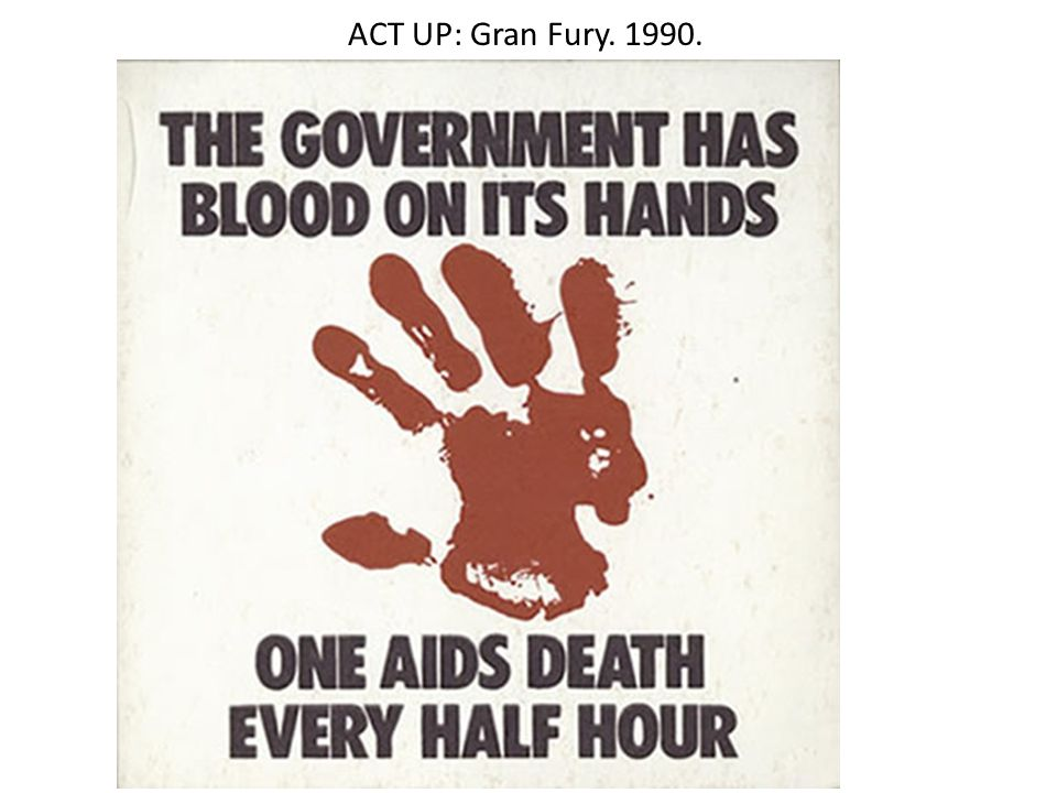 ACT UP: Gran Fury. 1990.