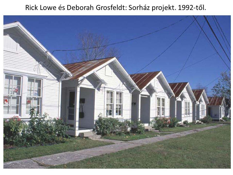 Rick Lowe és Deborah Grosfeldt: Sorház projekt. 1992-től.