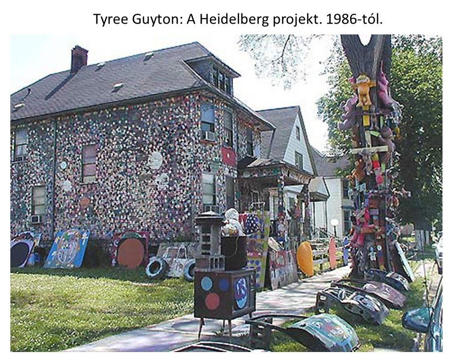 Tyree Guyton: A Heidelberg projekt. 1986-tól.