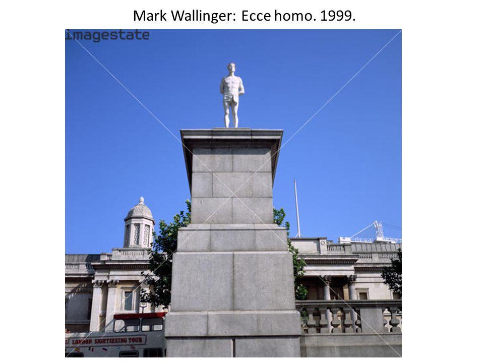 Mark Wallinger: Ecce homo. 1999.