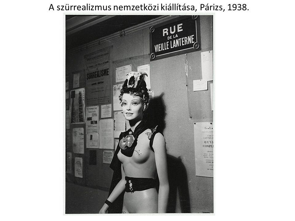 A szürrealizmus nemzetközi kiállítása, Párizs, 1938.