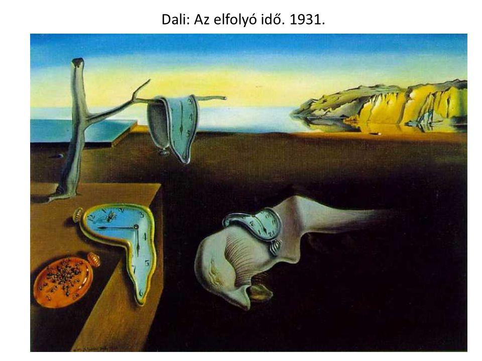 Dali: Az elfolyó idő. 1931.