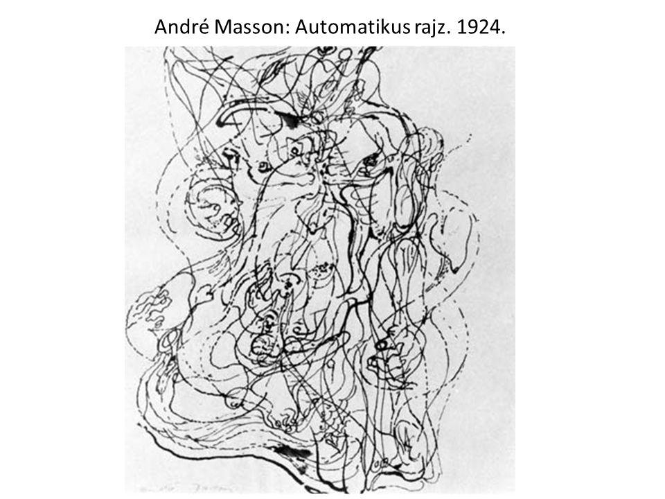 André Masson: Automatikus rajz. 1924.