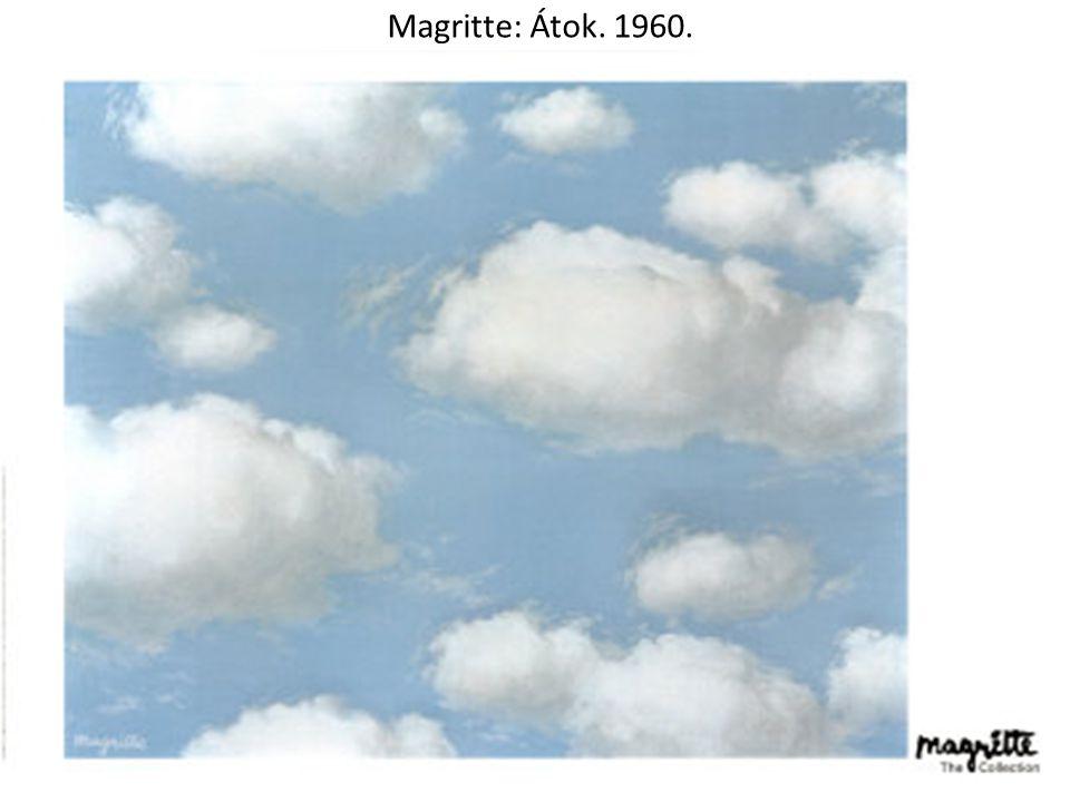 Magritte: Átok. 1960.