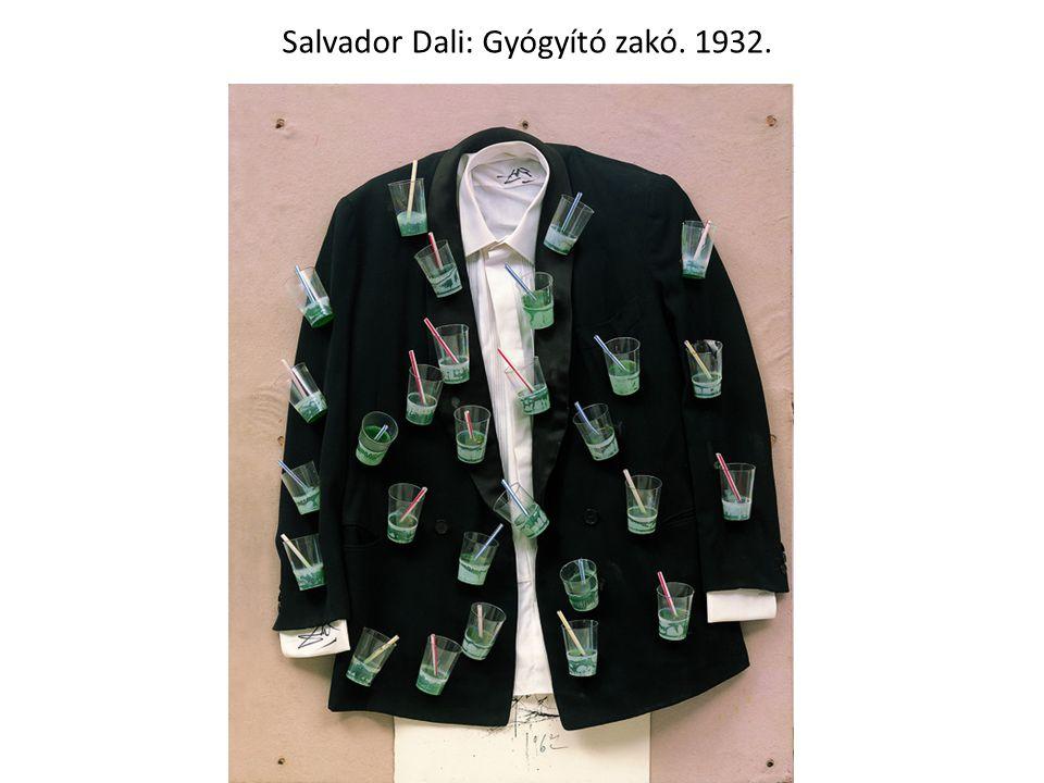 Salvador Dali: Gyógyító zakó. 1932.