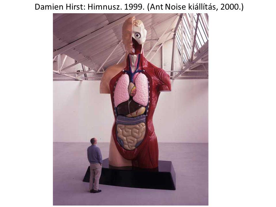 Damien Hirst: Himnusz. 1999. (Ant Noise kiállítás, 2000.)