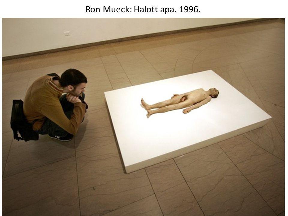 Ron Mueck: Egy kislány. 2003.