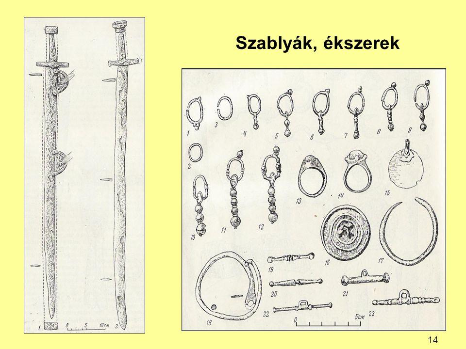 Szablyák, ékszerek 14
