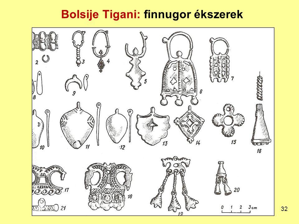 Bolsije Tigani: finnugor ékszerek 32