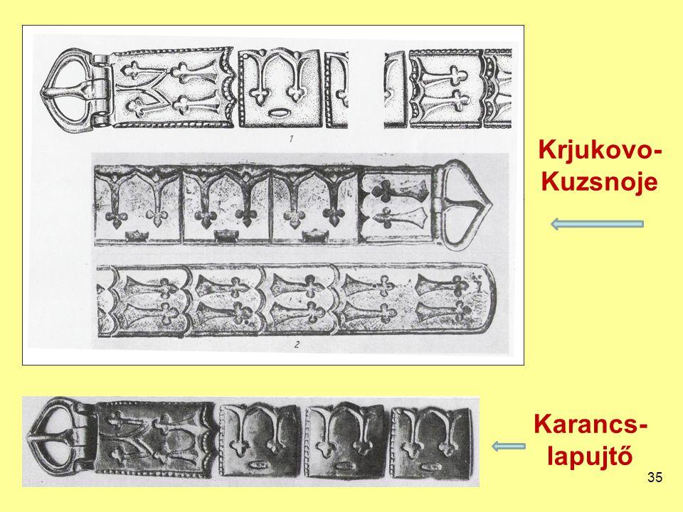 Krjukovo- Kuzsnoje 35 Karancs- lapujtő