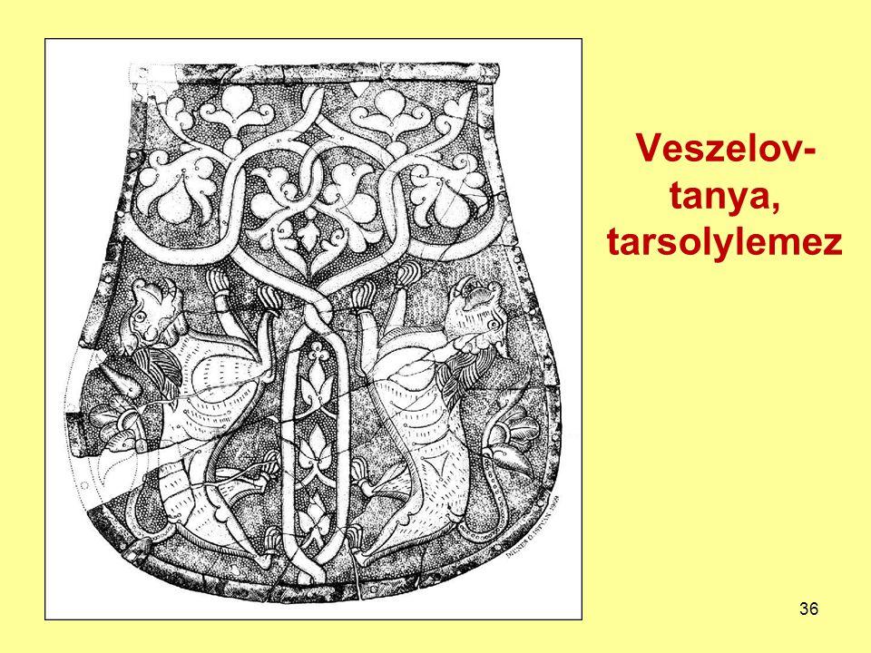 Veszelov- tanya, tarsolylemez 36