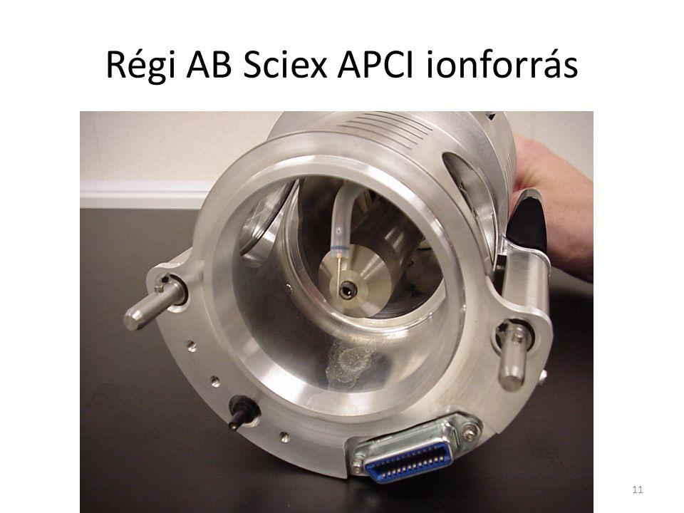 Régi AB Sciex APCI ionforrás 11