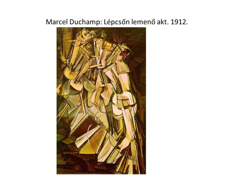 Marcel Duchamp: Lépcsőn lemenő akt. 1912.