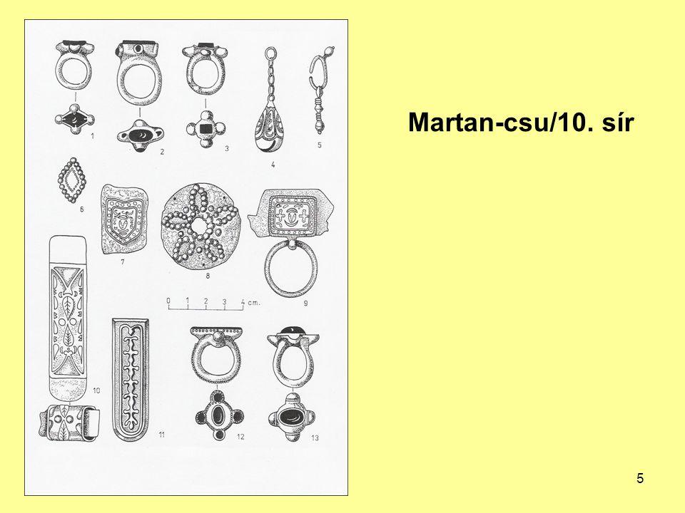 A szogd fémművesség hatása a honfoglaló magyarok fémművességére A sztyeppi népek számára a horezmi ötvösök diktálták a divatot.