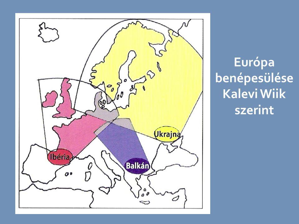 Európa benépesülése Kalevi Wiik szerint