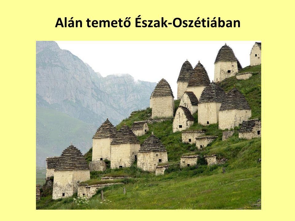 Alán temető Észak-Oszétiában