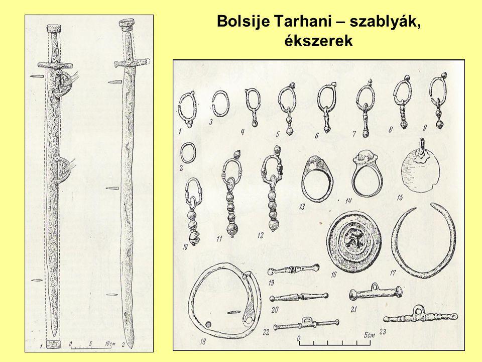 Bolsije Tarhani – szablyák, ékszerek