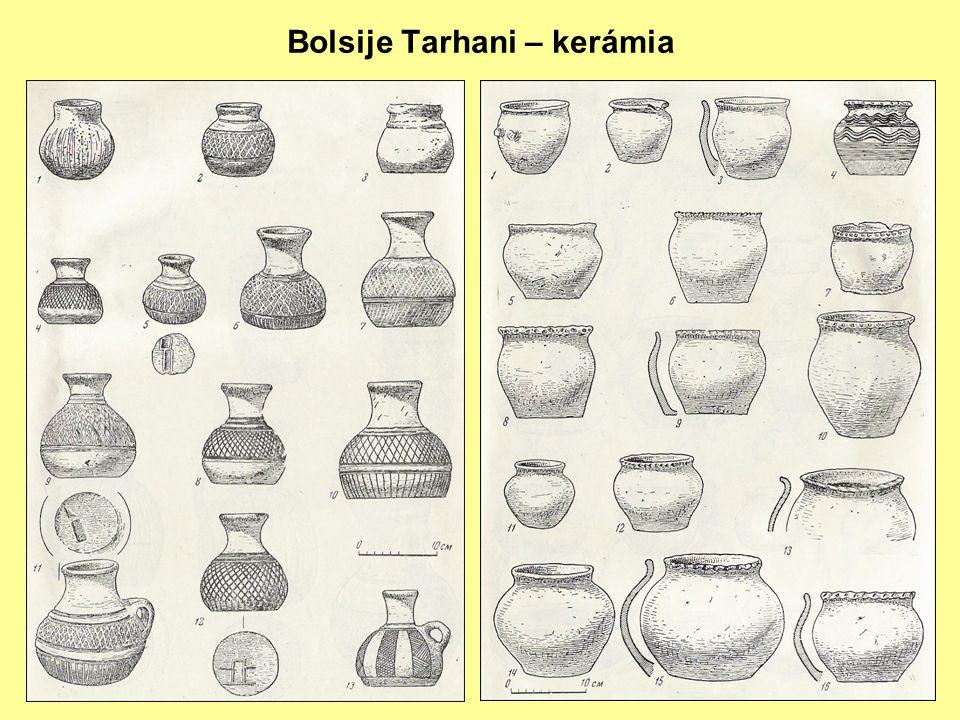 Bolsije Tarhani – kerámia